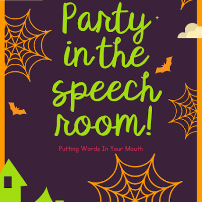 We are PARTYING in the speech room!!