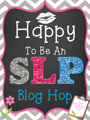Happy to be an SLP Blog Hop!