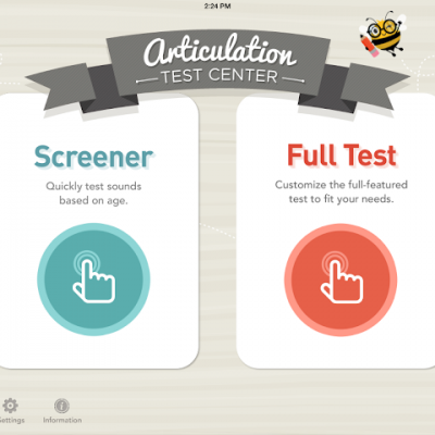 Articulation Test Center {an app review!}