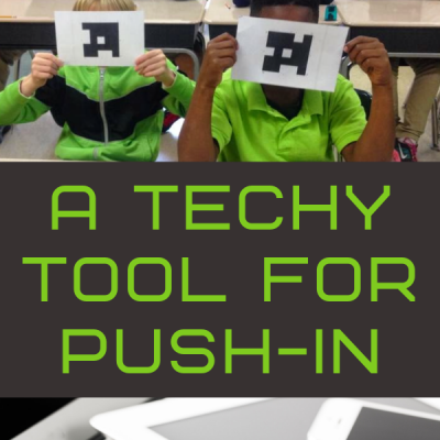 A TECHY TOOL for your speech room & PUSH IN