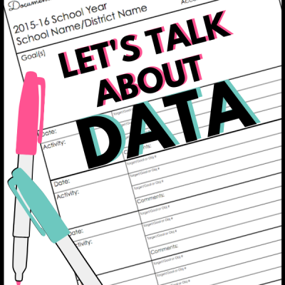 Let's Talk About Data Collection