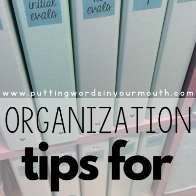 My Favorite Organization Tips