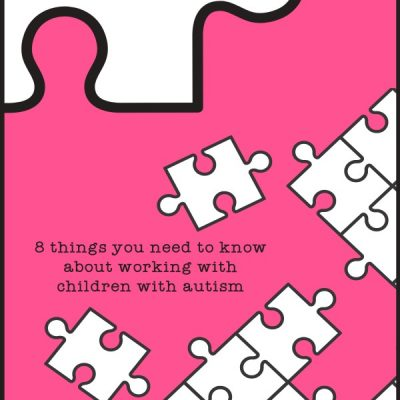 First in a Series: 8 Things You Need to Know When Working with a Student Who has Autism  { #1 }