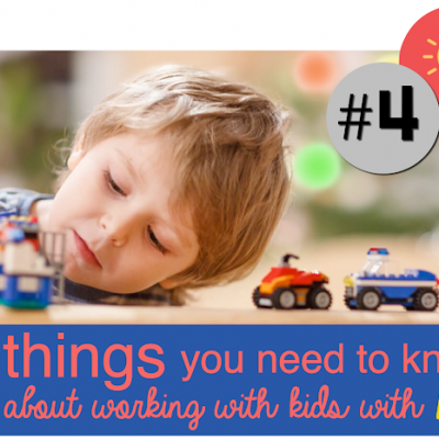 #4 IN A SERIES: 8 things you need to know about working with children with autism