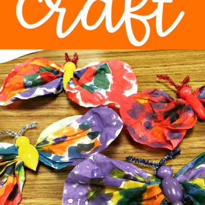 Easy Butterfly Craft for Spring