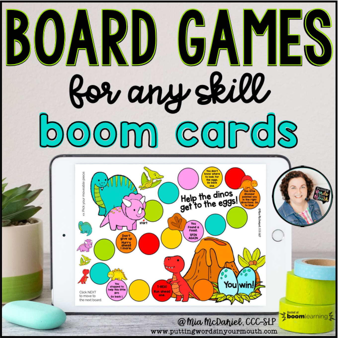 Digital Board Games for any skill - Boom Cards!