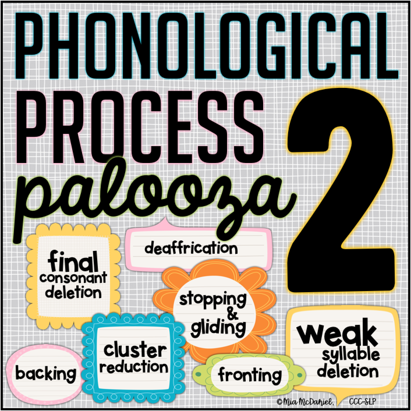Phonoloogical Process Palooza 2