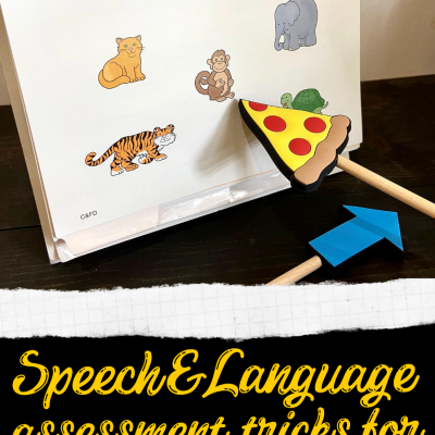 Speech and Language Assessment Tricks during Covid19